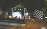 Goodwood hillclimb start line
