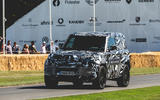 Land Rover Defender at Goodwood 2019