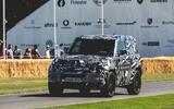 Land Rover Defender at Goodwood 2019