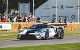 Ford GT MK II at Goodwood 2019 - front