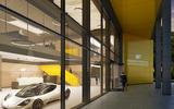 Gordon Murray Group HQ render - reception