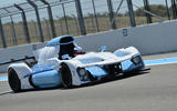 Hydrogen fuel cell racing car