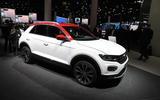 Volkswagen T-Roc R-Line Frankfurt motor show