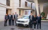 Pope Francis receives new Dacia Duster at The Vatican
