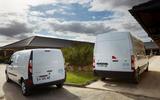 Renault hydrogen vans together