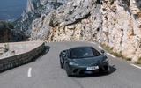 McLaren GT front motion