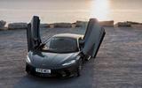 McLaren GT with doors open