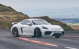 2019 Porsche 718 Cayman GT4 UK review - drift