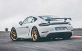 2019 Porsche 718 Cayman GT4 UK review - rear