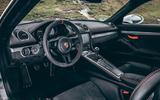 2019 Porsche 718 Cayman GT4 UK review - interior