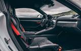 2019 Porsche 718 Cayman GT4 UK review - front seats