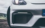 2019 Porsche 718 Cayman GT4 UK review - bumper