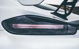 2019 Porsche 718 Cayman GT4 UK review - brake light