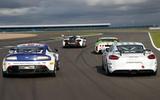 GT4 racers