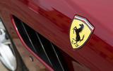 Ferrari GTC4 Lusso badging