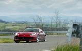 Ferrari GTC4 Lusso cornering