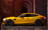 AMG GT 4 saloon targets Porsche and Bentley