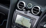 Bentley Continental GT S V8 infotainment