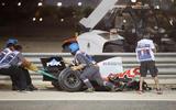 Haas F1 Romain Grosjean Bahrain crash 2020 - copyright Getty images