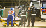 Haas Romain Grosjean Bahrain crash 2020 - copyright Getty images