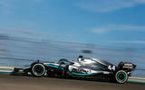 Lewis Hamilton wins sixth driver's world championship - car rear