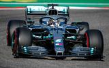 Lewis Hamilton wins sixth driver's world championship - car front