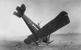 Crashed German plane
