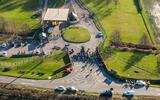 RAF Croughton aerial view