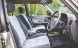 2000 Toyota Land Cruiser interior