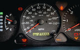 2000 Toyota Land Cruiser clocks
