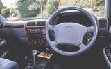 2000 Toyota Land Cruiser dashboard