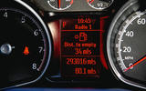 2008 Ford mondeo clocks