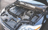 2008 Ford Mondeo engine bay