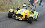 Caterham Shelsley Walsh hillclimb