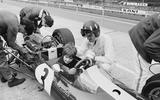 Damon and Graham Hill - image credit Getty Images
