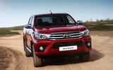 Toyota Hilux Invincible cornering