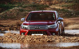 Toyota Hilux Invincible wading