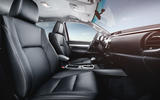 Toyota Hilux Invincible interior