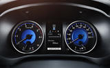 Toyota Hilux Invincible instrument cluster