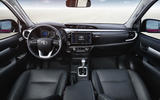 Toyota Hilux Invincible dashboard