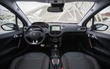 Peugeot 2008 dashboard