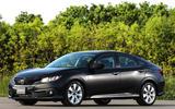 Honda Civic dynamic test car
