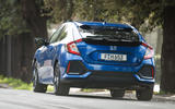 Rear cornering Honda Civic diesel