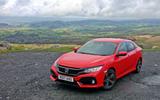 Honda Civic driven up to Wales