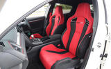 Honda Civic Type R bucket seats