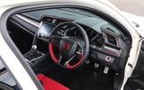Honda Civic Type R dashboard