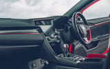 Honda Civic Type R longterm review interior cubby