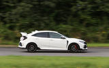 Honda Civic Type R side profile