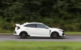 Honda Civic Type R side profile