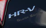 Honda HR-V Black Edition badging